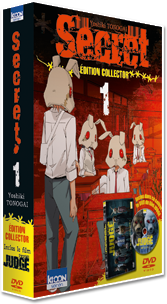Secret T01 - Pack collector avec DVD du film Judge