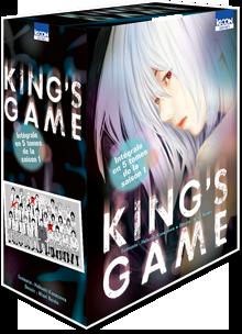 King's Game Coffret - L'intégrale en 5 tomes