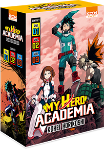 My Hero Academia Coffret T01 à T03