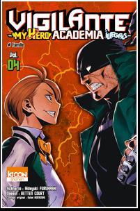 Vigilante – My Hero Academia Illegals – T04