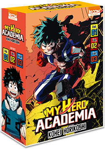 My Hero Academia - Coffret Vol. 1 à 3 [Édition 2018]