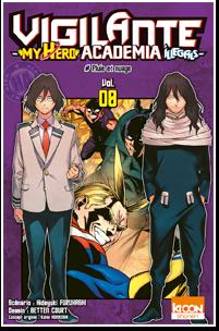 Vigilante – My Hero Academia Illegals – T08