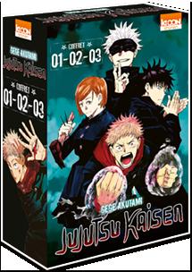 Jujutsu Kaisen - Coffret Vol. 1 à 3
