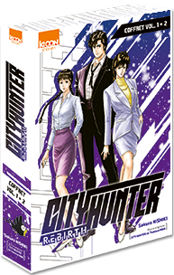 City Hunter Rebirth - Pack Vol. 1 & 2