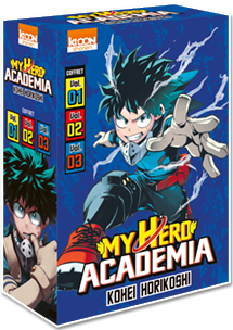 My Hero Academia - Coffret Vol. 1 à 3 [Édition 2019]