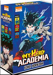 My Hero Academia - Coffret Vol. 1 à 3 [Édition 2019]