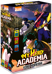 My Hero Academia - Coffret Vol. 1 à 3 [Édition 2020]
