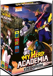 My Hero Academia - Coffret Vol. 1 à 3 [Édition 2020]