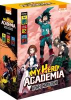 My Hero Academia Coffret T01 à T03