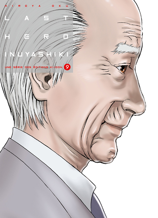 Couverture Inuyashiki tome 9