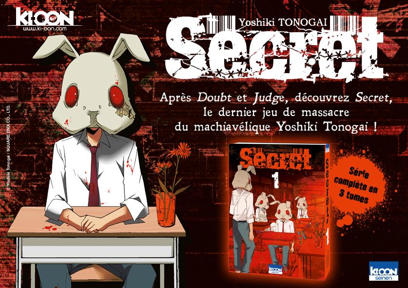 Secret - Yoshiki Tonogai
